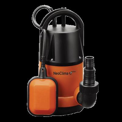 Дренажный насос насосы для грязной воды серии NeoClima DP 750 D