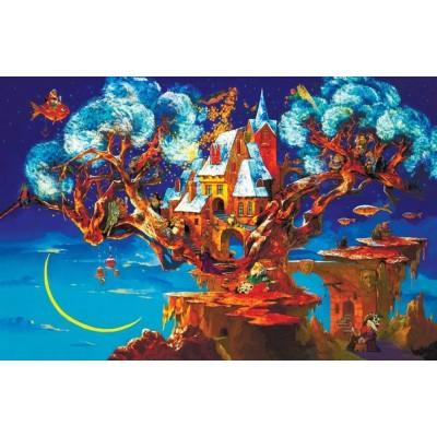 Деревянные пазлы Davici Дерево сновидений