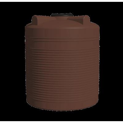 Пластиковая бочка для сыпучих материалов (продуктов) ЕКБ 3000 (3000л)