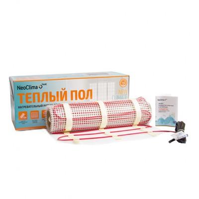Маты нагревательные NeoСlima N-TM 1800/12